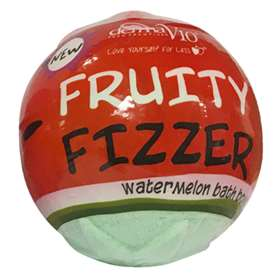 DermaV10 Fruity Fizzer Watermelon Bath Bomb