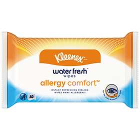 Kleenex Water Fresh Allergy Comfort 40 Wipes