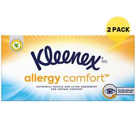Kleenex Allergy Comfort Tissues Twin Pack
