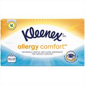 Kleenex Allergy Comfort Soft Pack Tissues 50