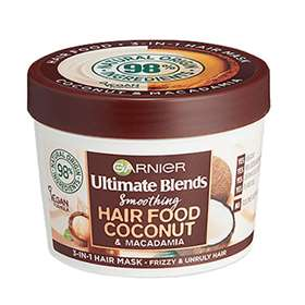 Garnier Ultimate Blends Coconut and Macadamia 3 in 1 Hair Mask 390ml