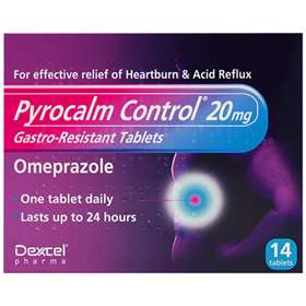 Pyrocalm Control 20mg 14 tablets