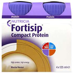 Fortisip Compact Protein Mocha 4x125ml
