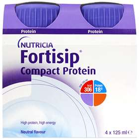Fortisip Compact Protein Neutral 4x125ml