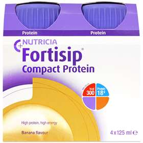 Fortisip Compact Protein Banana 4x125ml