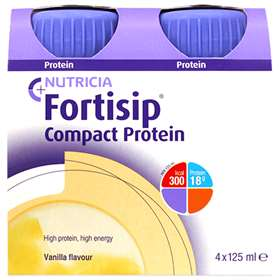 Fortisip Compact Protein Vanilla 4x125ml