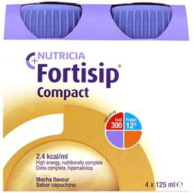 Fortisip Compact Mocha 4x125ml