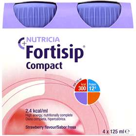 Fortisip Compact Strawberry 4x125ml