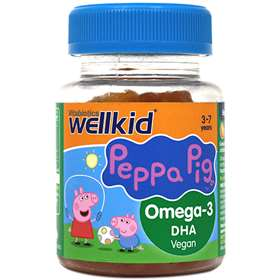 Vitabiotics Wellkid Peppa Pig Omega-3 3-7 years 30