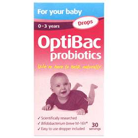 Optibac Probiotics Drops For Your Baby 30 Servings