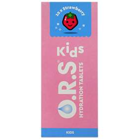 O.R.S. Kids Hydration Tablets Strawberry 12