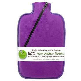Hugo Frosch Eco Hot Water Bottle Purple