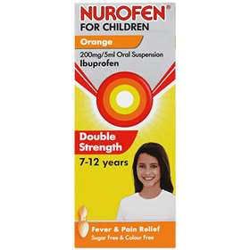 Nurofen For Children Double Strength Ibuprofen Orange 100ml