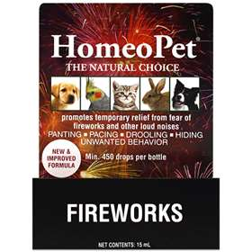 HomeoPet Fireworks 15ml