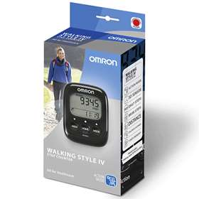 Omron Walking Style IV Step Counter Black