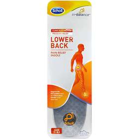 Scholl Lower Back Pain Relief Insoles - Medium