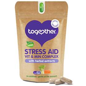 Together Health Stress Aid Vitamin and Mineral Complex Vegecaps 30