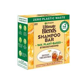 Garnier Ultimate Blends Shampoo Bar Honey Treasures 60g