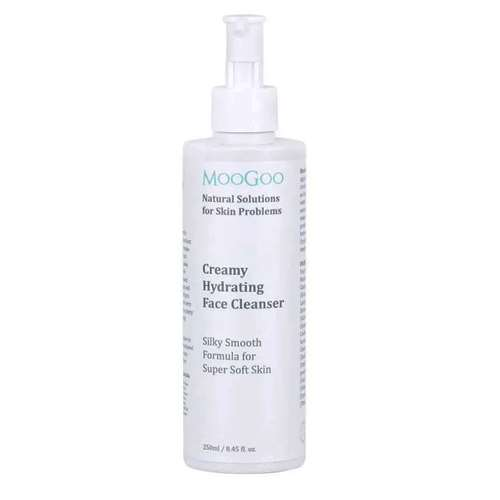 Vitamins & Supplements Moogoo Creamy Hydrating Face Cleanser 250ml
