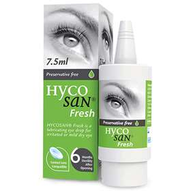 Hycosan Fresh Eye Drops 7.5ml