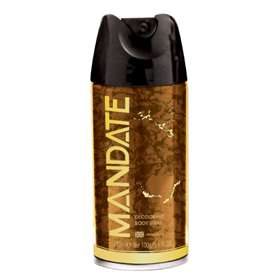 Mandate Deodorant Body Spray 150ml
