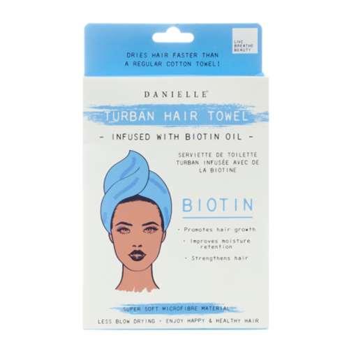 Vitamins & Supplements Danielle Biotin Oil Infused Turban Hair Towel
