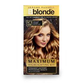 Jerome Russell B Blonde Complete Home Highlight Kit no1