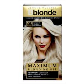 Jerome Russell B Blonde Maximum Blonding Kit - N01 Light to Dark