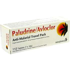 Paludrine + Avloclor Travel Pack (112 tablets)