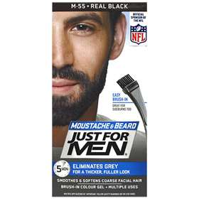 Just for Men Moustache and Beard - M55 Real Black