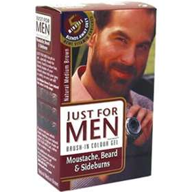 Just for Men - Gel for Moustache, Beard & Sideburns - Medium Brown