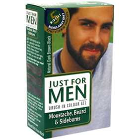 Just for Men - Gel for Moustache, Beard & Sideburns - Dark Brown-Black