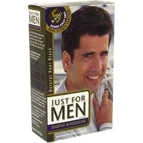 Just For Men - Shampoo in Hair Colour - Natural Real Black