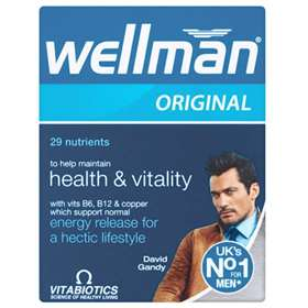 Wellman Health & Vitality Tablets (30)
