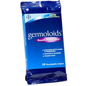 Germoloids Soothing Wipes (10)