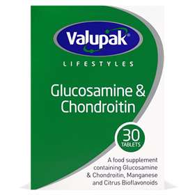 Valupak High Strength Glucosamine & Chondroitin 500/400mg (30)