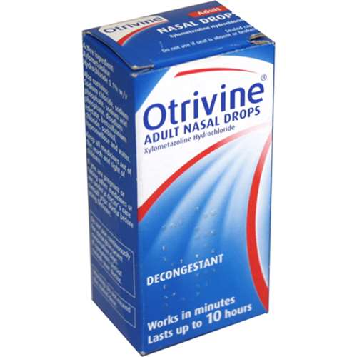 Otrivine Adult Nasal Drops 10ml