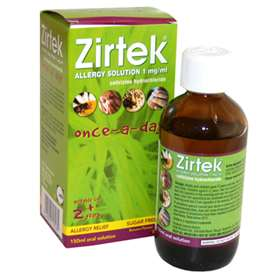 Zirtek Allergy Solution 150ml