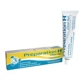 Preparation H clear gel 50g