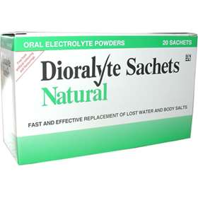Dioralyte Natural Sachets (20)
