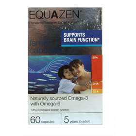 EQUAZEN family Capsules ( fromerly Eye Q) (60)